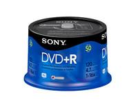 Sony DVD+R, 16X, SPINDLE-BULK, 50PC
