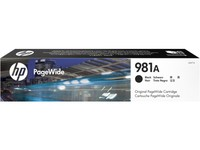 Hewlett Packard INK CARTRIDGE 981A BLACK