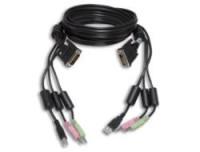 Avocent KVM Kabel-Kit 1.8m DVI USB AUD