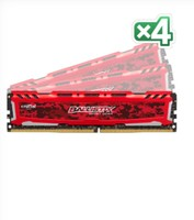 Crucial 64GB KIT 16GBX4 DDR4 2400 MT/S