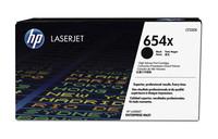 Hewlett Packard CF330X Tonerkasst 654X Schwarz