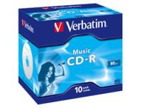 Verbatim CDR AUDIO LIVE IT COLOURS