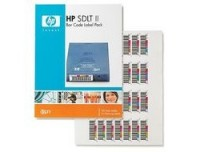 Hewlett Packard SDLT 2 Barcode Labels