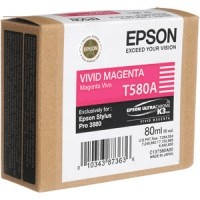 Epson T580 VIVID MAGENTA