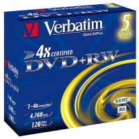 Verbatim DVD+RW 4.7GB