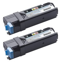 Dell PRNT TONER DUAL-KIT BLACK