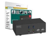 Digitus USB-KVM Switch mit Audio